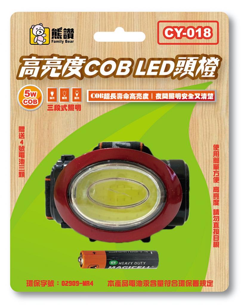 CY-018 高亮COB LED頭燈