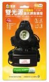 CY-022(白/黃) XML-T6  雙光源頭燈
