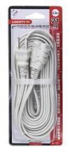 利百代 LB-1221 2P 21尺 可鎖定分離式電源線