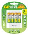 USB超值組充電器+2700mAh 3號低自放充電池4入