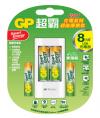 USB超值組充電器+智醒充電池  3號 4入