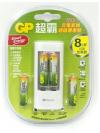 USB超值組充電器+智醒充電池  4號 4入