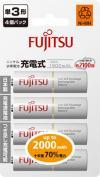 FUJITSU富士通 鎳氫充電電池 4-2S (2000mAh)