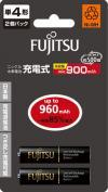 FUJITSU富士通 鎳氫充電電池 3-2S (960mAh)