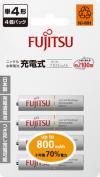 FUJITSU富士通 鎳氫充電電池 4-2S (800mAh)